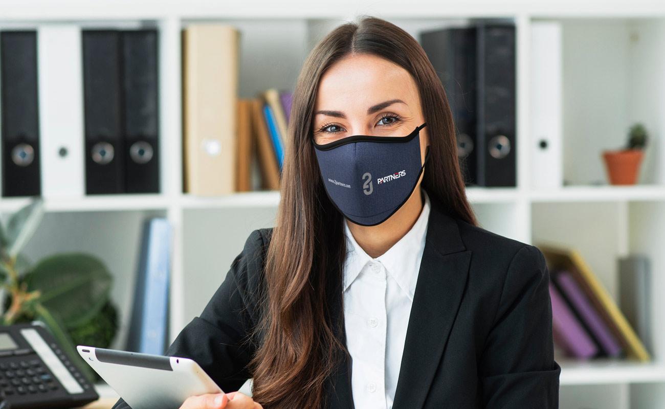 Denim - Personalized Face Masks