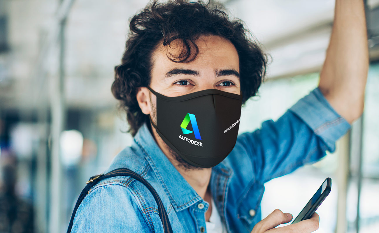 Sky iON - Printed Face Mask
